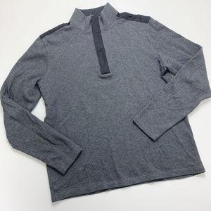 Hugo Boss Regular Fit 1/4 Zip Sweater